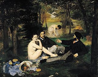 Luncheon on the Grass by Manet