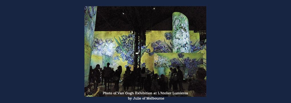 L'Atelier Lumieres: Revisited