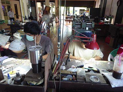 silversmiths at work