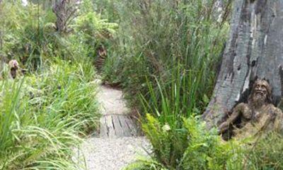 Bruno's Garden pathway
