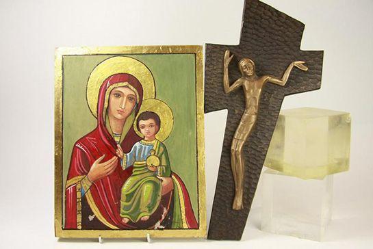 icon and cricifix