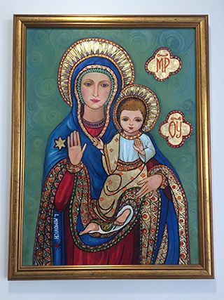 Mary and Child 2 Icon