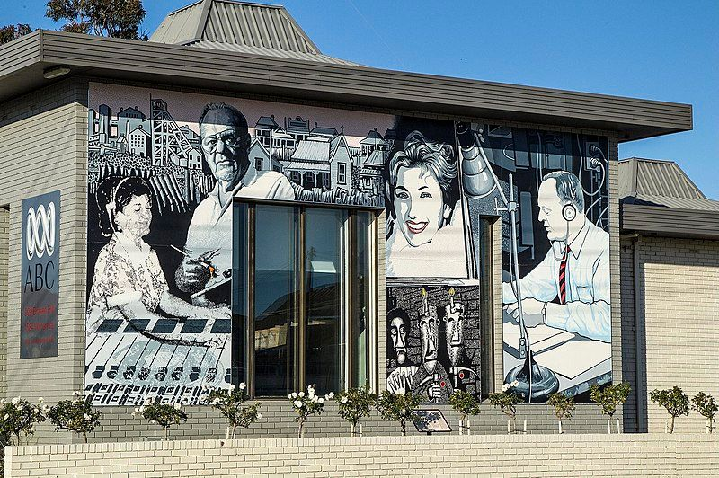 Mural Broken Hill ABC