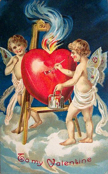 1909 Valentine's Card