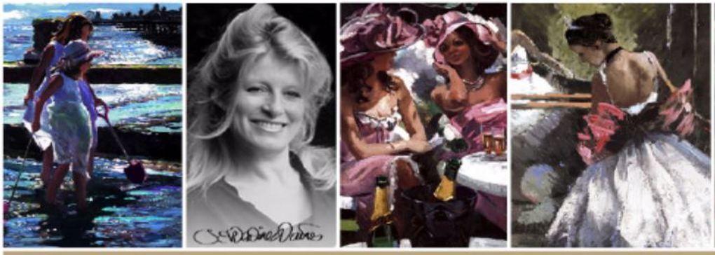 Britain's leading modern impressionist - Sherree Valentine Daines