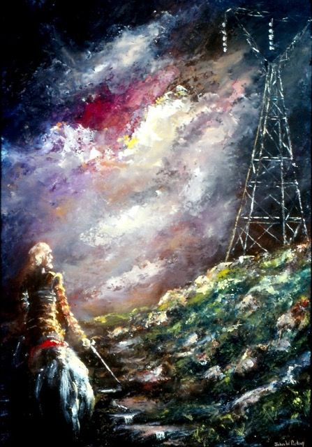 Don Quixote and the Kiewa Power Lines