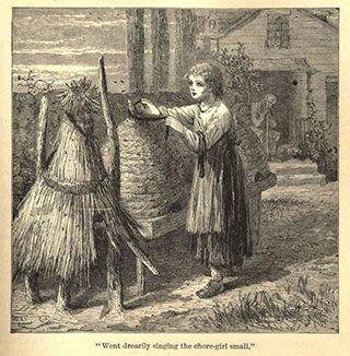 Singing chore girl