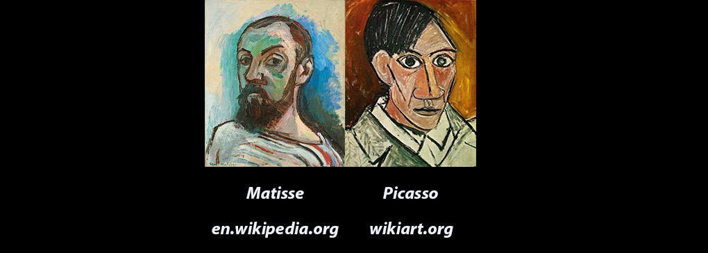 Matisse versus Picasso