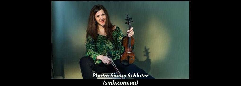 Sarah Curro, a rare violinist