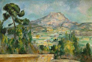Paul_Cezanne.Montagne_Sainte-Victoire.c.1890.Musee_dOrsay_Paris_France