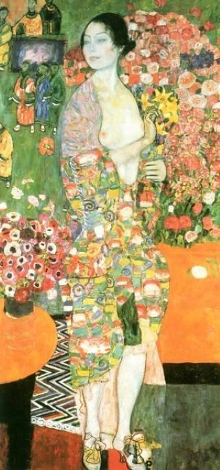 The vibrance of Gustav Klimt!
