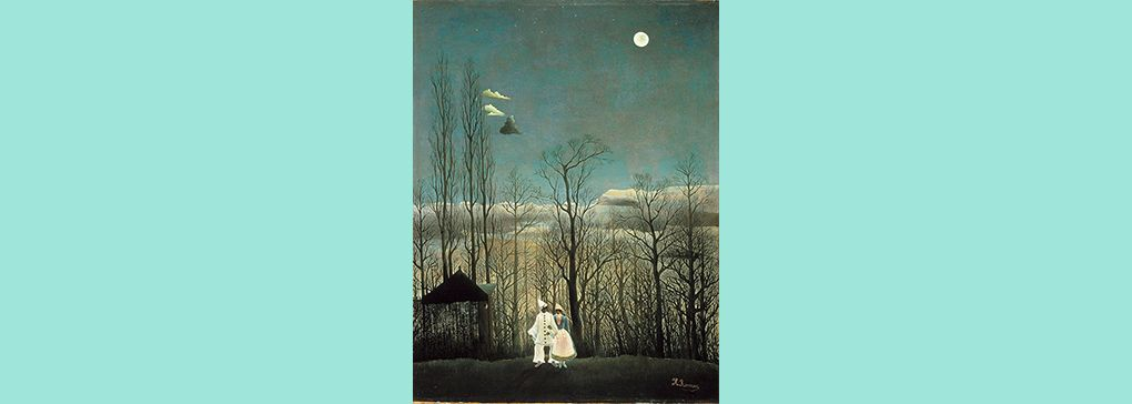 Monday's Feature Art Work: Carnival Evening by Henri Rousseau