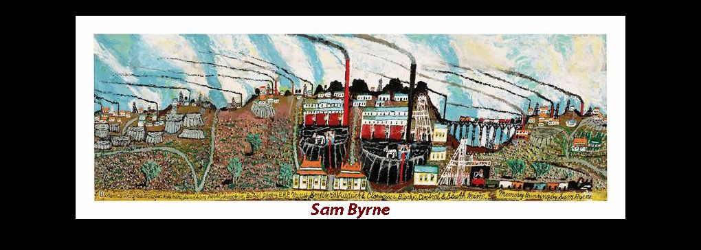 Sam Byrne: Naive Painter from Broken Hill, New South Wales