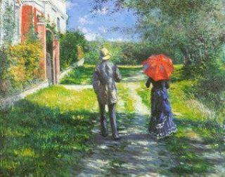 Gustave Caillebotte - a benevolent friend.