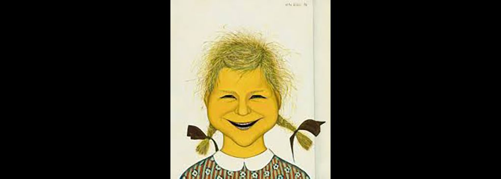 Monday's Art Work: Laughing Child by John Brack