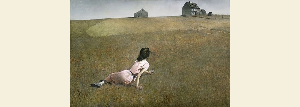 Monday's Feature: Christina's World by Andrew Wyeth