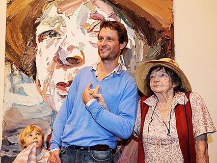 Ben Quilty and Margaret Olley