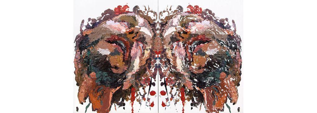 Ben Quilty's Rorschach Works