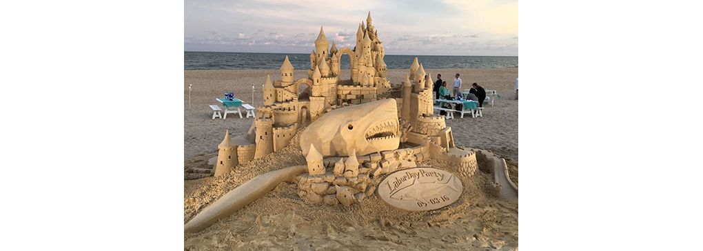 Monday's Feature Art Work: Sand Sculptures by Matt Long