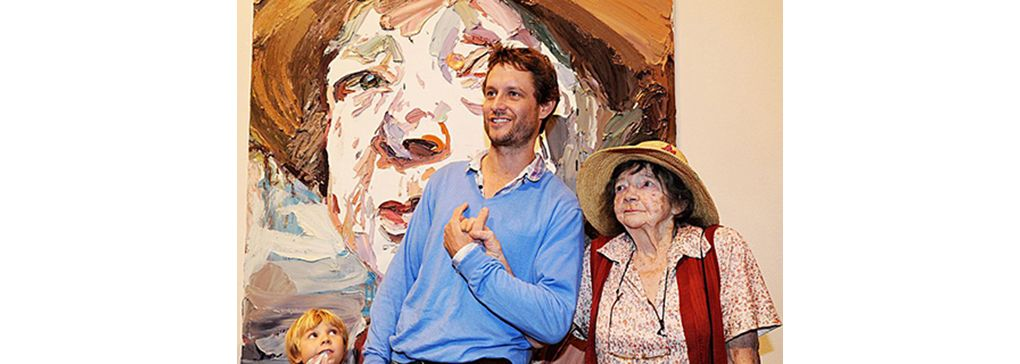 Ben Quilty and Margaret Olley