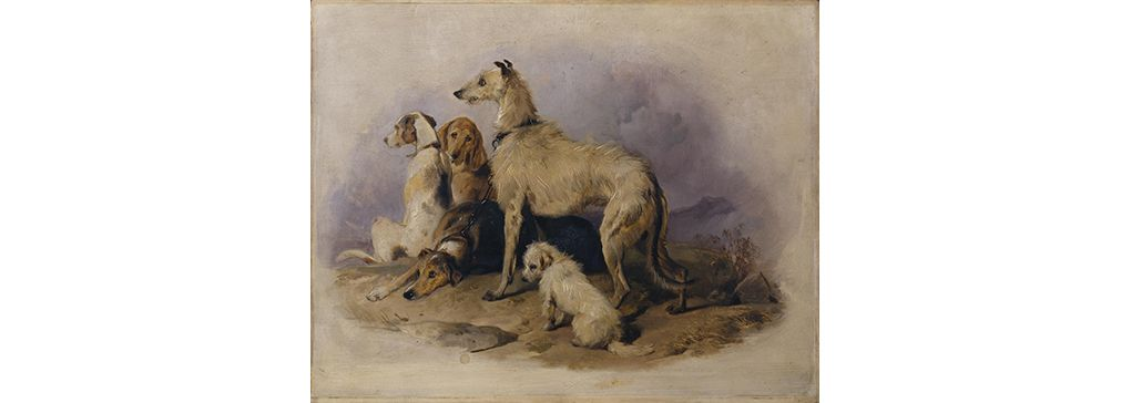 Past Post: No 15 August 2018:  Dogs in Our Lives and in Art