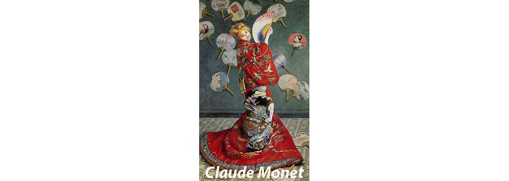 Feature Art Work: La Japonaise by Claude Monet