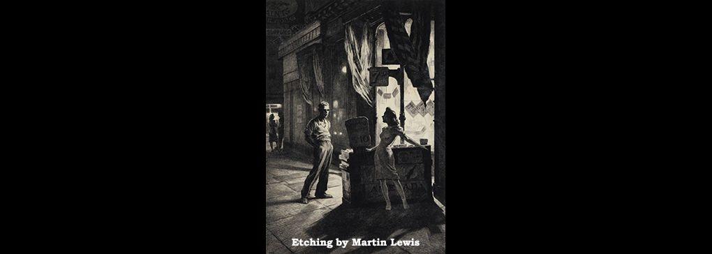 Martin Lewis: the Australian who Mentored Edward Hopper