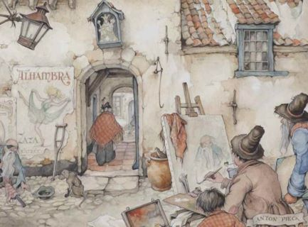 Anton Pieck: Dutch engraver, illustrator