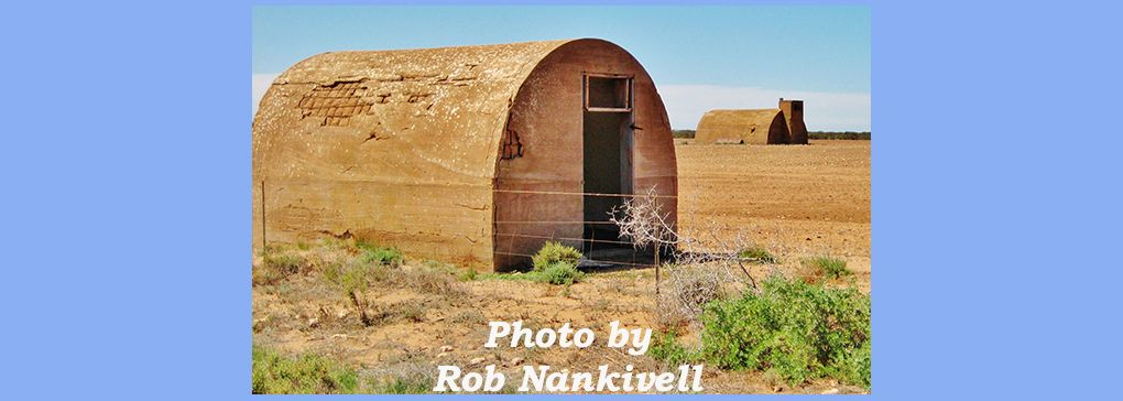 Igloos in coastal Eastern Eyre Peninsula, South Australia