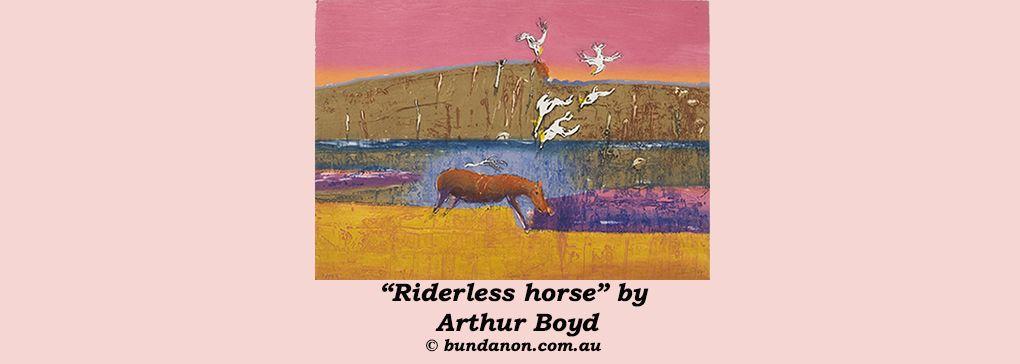 Arthur Boyd: Landscape Ambiguous - an unbridled conversation piece