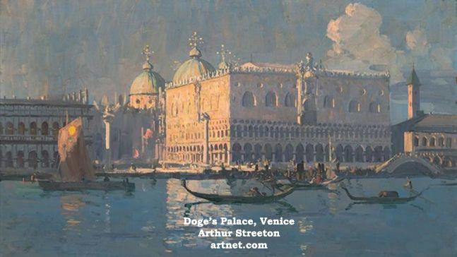 Arthur Streeton's Travels