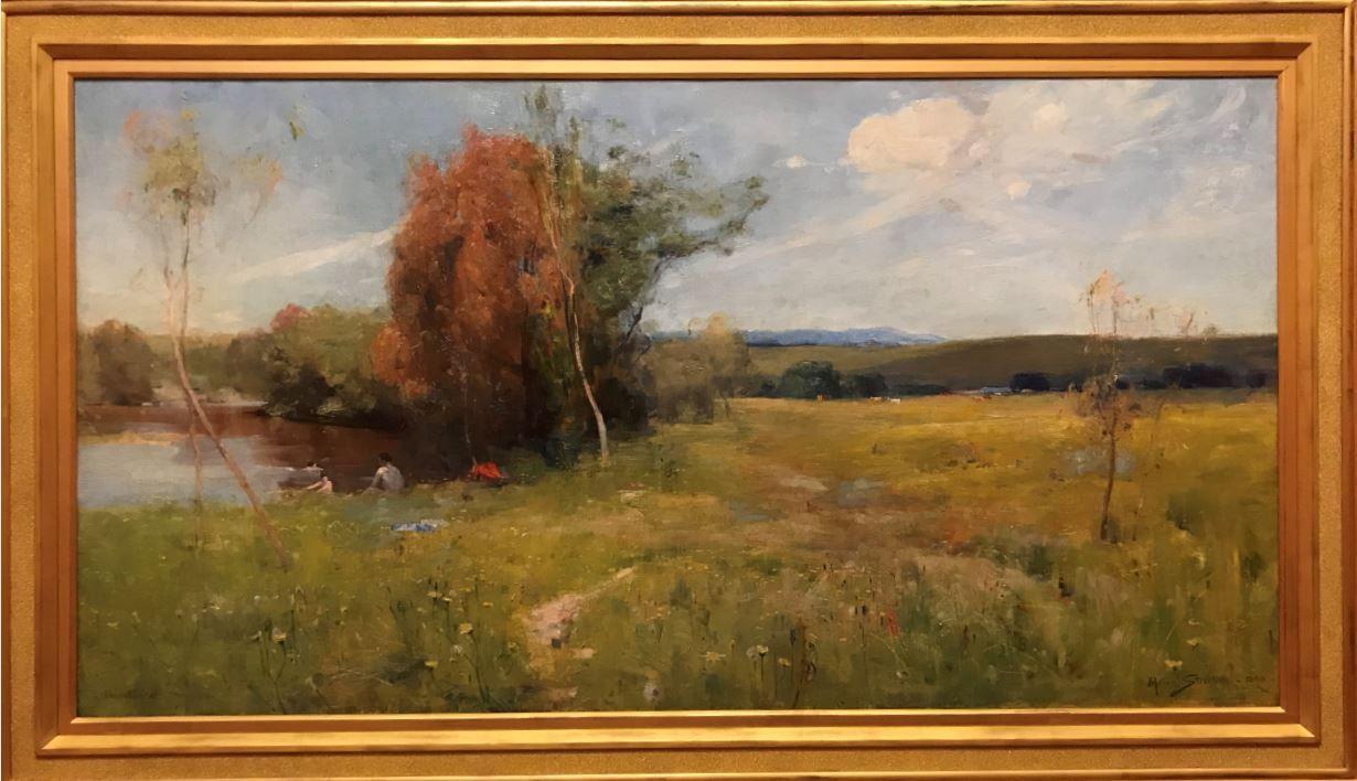 Spring by Arthur Streeton