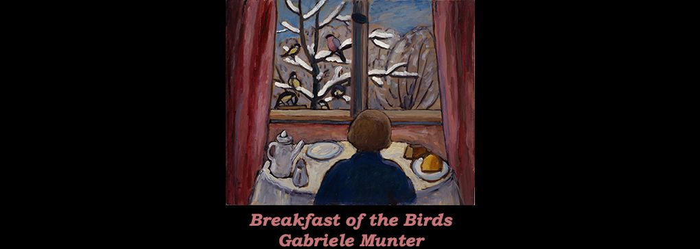 Breakfast of the Birds by Gabriele Münter