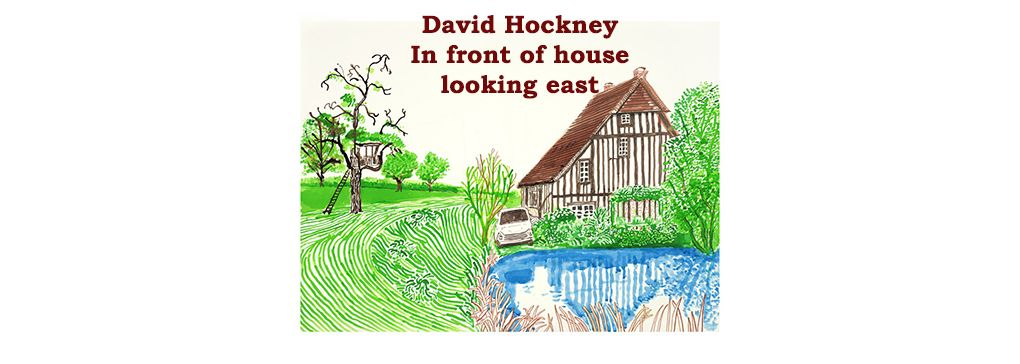 David Hockney in Lockdown