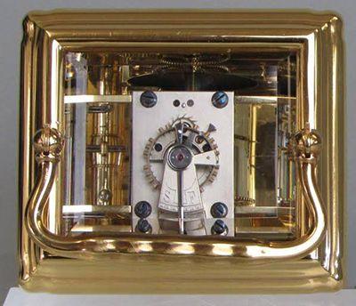 French Carriage Clock Platform Escapement