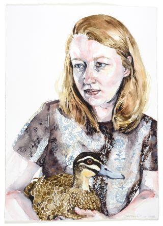 Sitting Duck (Self Portrait