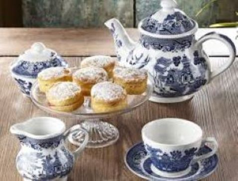 The ever popular Willow pattern