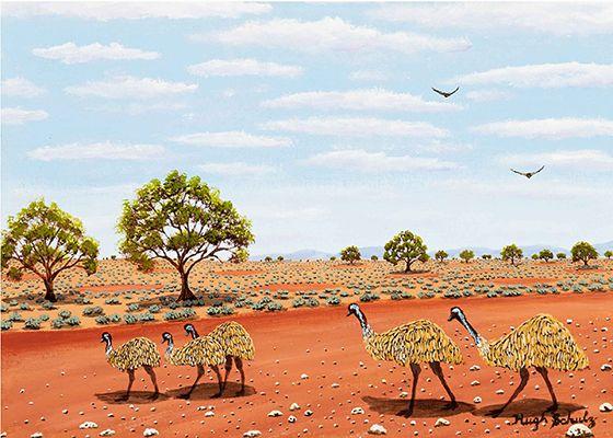 Emus Hugh Schulz