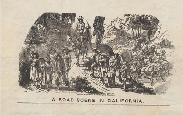 Road Scene in California