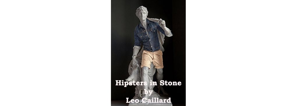 Hipsters in Stone by Leo Caillard: Playing with Anachronism