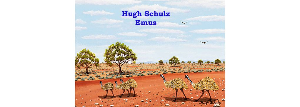 Journey through the Outback: Ode to Hugh Schulz