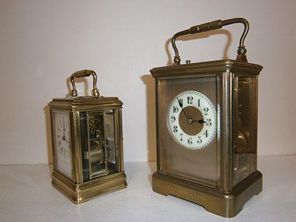Gorge and Corniche Carriage Clocks
