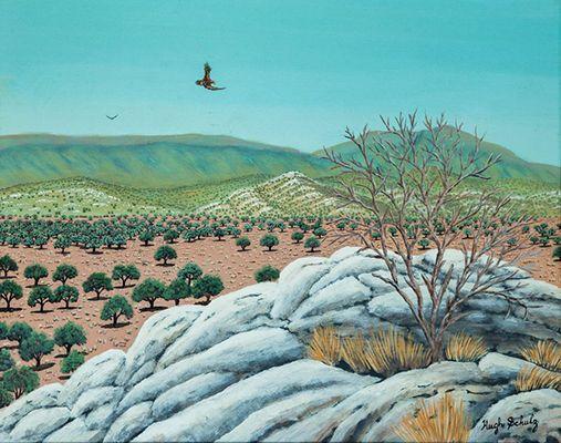 Quartzite Hills Hugh Schulz