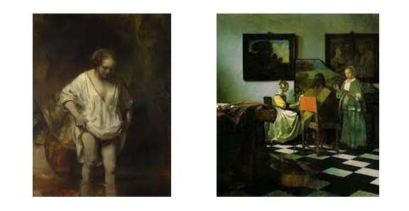 Rembrandt and Vermeer