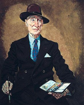 Nugent H Welch by Victor Mitchell