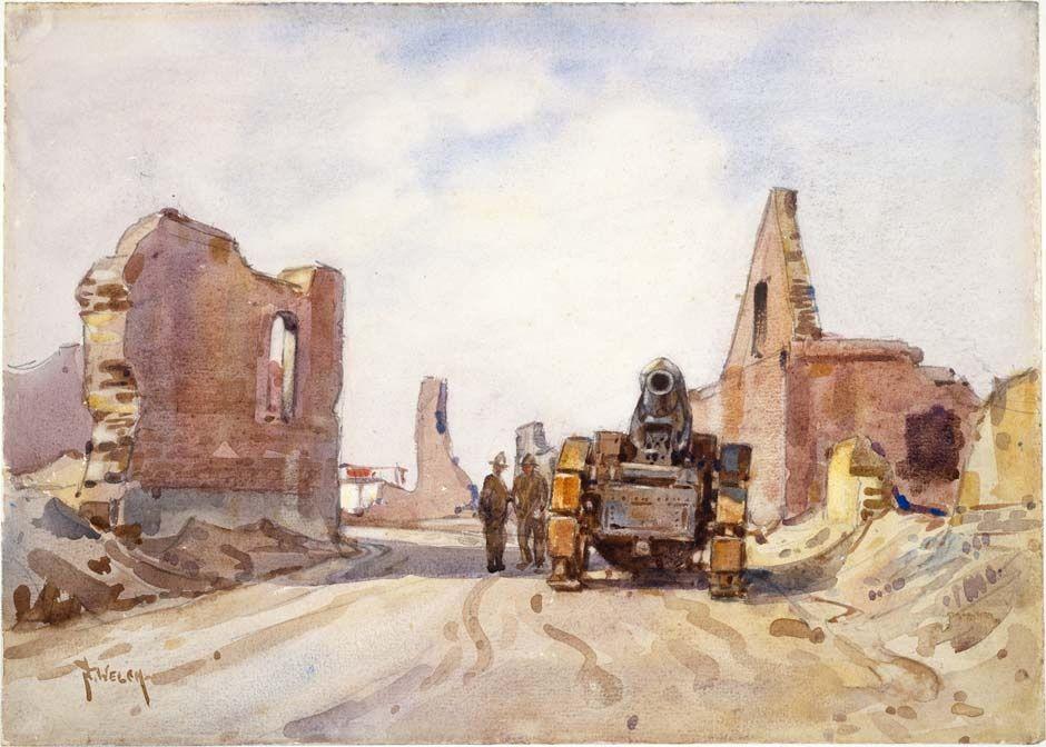 Nugent H Welch WW1