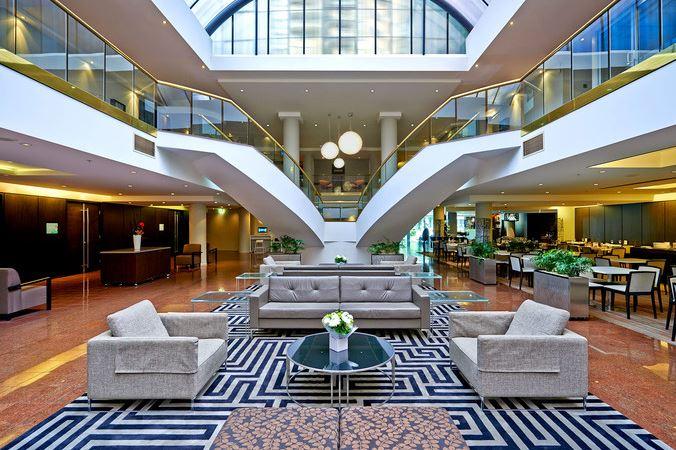 Novotel Sydney Parramatta Hotel Foyer