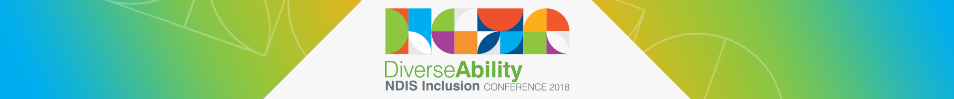 DiverseAbility NDIS Inclusion Conference Footer Image
