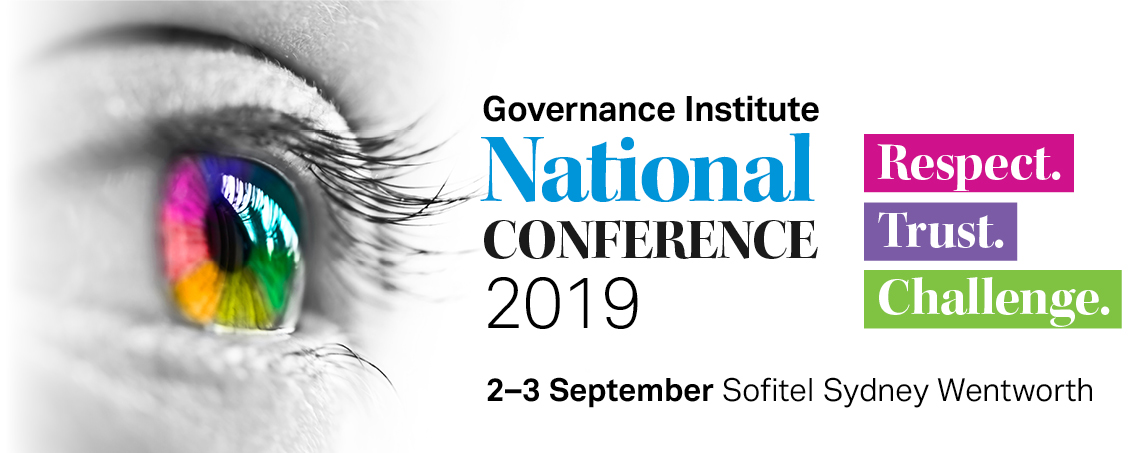 National Conference 2019 — Governance Institute of Australia