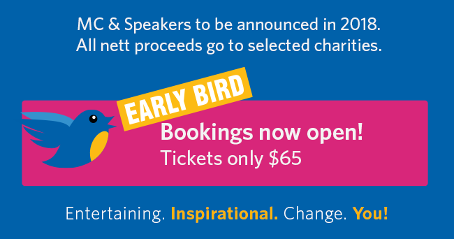 Early Bird Tickets Available